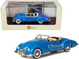 1948 Kurtis Omohundro Comet Roadster Blue Metallic Limited Edition 250 pieces Worldwide 1/43 Model Car Esval Models EMUS43026 B