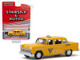 1968 Checker Taxi Metro Cab Co Yellow Starsky and Hutch 1975 1979 TV Series Hollywood Special Edition 1/64 Diecast Model Car Greenlight 44855 C
