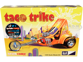 Skill 2 Model Kit Taco Trike Trick Trikes Series 1/25 Scale Model MPC MPC893