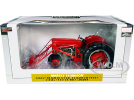 Massey Ferguson 65 Narrow Front Diesel Tractor Loader Red Classic Series 1/16 Diecast Model SpecCast SCT731