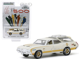 1972 Oldsmobile Vista Cruiser Official Press Car 56th Annual Indianapolis 500 Mile Race Hobby Exclusive 1/64 Diecast Model Car Greenlight 30114