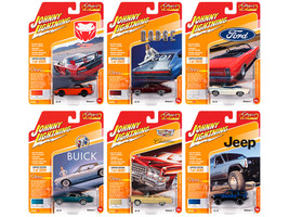 Classic Gold 2020 Release 1 Set A of 6 Cars Limited Edition 3000 pieces Worldwide 1/64 Diecast Model Cars Johnny Lightning JLCG021 A