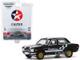 1971 Datsun 510 4-Door Sedan Caltex with Techron Black Stripes Hobby Exclusive 1/64 Diecast Model Car Greenlight 30169