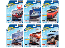 Classic Gold 2020 Release 1 Set B of 6 Cars Limited Edition 3000 pieces Worldwide 1/64 Diecast Model Cars Johnny Lightning JLCG021 B