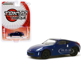 2020 Nissan 370Z Coupe Deep Blue Pearl Tokyo Torque Series 8 1/64 Diecast Model Car Greenlight 47060 E