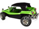 Meyers Manx Buggy Green Metallic Black Soft Top 1/18 Diecast Model Car Solido S1802703