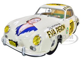 Porsche 356 PRE-A #200 Jacqueline Evans En Memoria de Eva Peron IV-Carrera Panamericana Mexico 1953 1/18 Diecast Model Car Solido S1802801