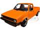 1982 Volkswagen Caddy MKI Pickup Truck Custom Orange 1/18 Diecast Model Car Solido S1803502