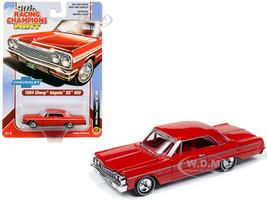 1964 Chevrolet Impala SS 409 Hardtop Riverside Red Red Interior 1/64 Diecast Model Car Racing Champions RCSP012