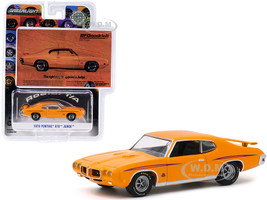 1970 Pontiac GTO Judge Orange The Right Way To Appoint A Judge BFGoodrich Vintage Ad Cars Hobby Exclusive 1/64 Diecast Model Car Greenlight 30138