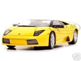 Lamborghini Murcielago Roadster Yellow 1/18 Diecast Model Car  Maisto 31636