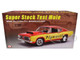 1968 Plymouth Barracuda Super Stock Test Mule Red Yellow Limited Edition 462 pieces Worldwide 1/18 Diecast Model Car ACME A1806114