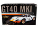 1969 Ford GT40 MKI #6 Jacky Ickx Jackie Oliver Gulf Oil 1969 Le Mans Champion The Masterpiece Collection Limited Edition 296 pieces Worldwide 1/12 Diecast Model Car GMP ACME M1201006
