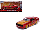 1969 Chevrolet Camaro SS Red Metallic Gold Iron Man Avengers Marvel Series 1/32 Diecast Model Car Jada 31744