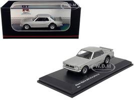 Nissan Skyline 2000GT-R KPGC10 Silver GT-R 50th Anniversary 1/64 Diecast Model Car Kyosho KS06990S