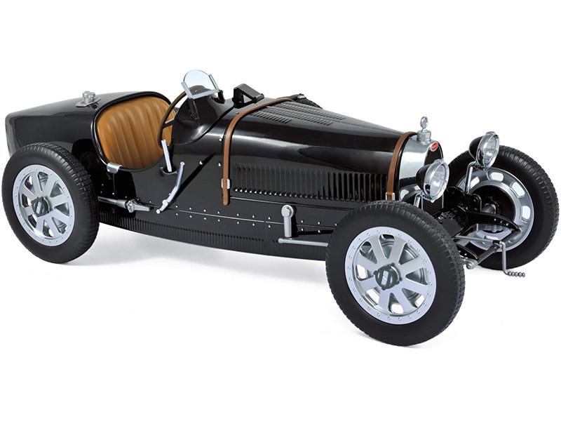 1925 Bugatti T35 Black 1/12 Model Car Norev 125701