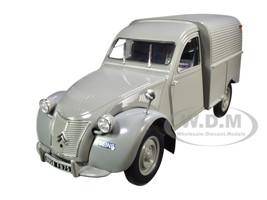 1957 Citroen 2CV Fourgonnette Van Gray 1/18 Diecast Model Norev 181490