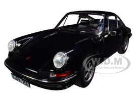 1973 Porsche 911 S Black 1/18 Diecast Model Car Norev 187631