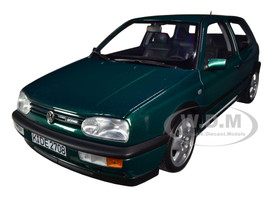 1996 Volkswagen Golf VR6 Green Metallic 1/18 Diecast Model Car Norev 188437