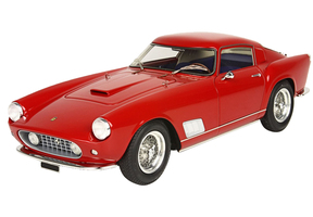 1958 Ferrari 250 TDF Faro Diritto Red DISPLAY CASE Limited Edition 300 pieces Worldwide 1/18 Model Car BBR BBR1817A
