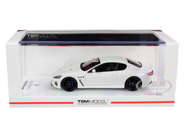 2018 Maserati GranTurismo MC Bianco Birdcage Pearl White 1/43 Model Car True Scale Miniatures 430398