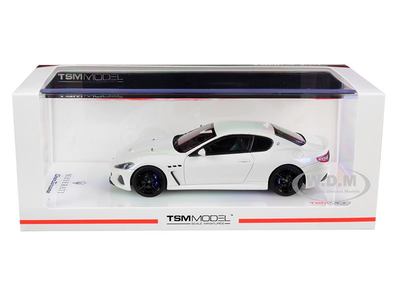 2018 Maserati GranTurismo MC Bianco Birdcage Pearl White 1/43 Model Car True Scale Miniatures 430398