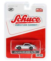 Porsche 911 930 Turbo White European Classics Series Limited Edition 2400 pieces Worldwide 1/64 Diecast Model Car Schuco 4400