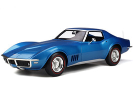 Chevrolet Corvette C3 Le Mans Blue Metallic 1/12 Model Car GT Spirit GT255