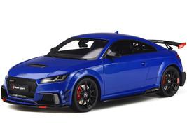 Audi TT RS Performance Parts Nogaro Blue Black Wheels 1/18 Model Car GT Spirit GT269