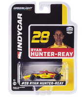 Dallara IndyCar #28 Ryan Hunter-Reay DHL Andretti Autosport NTT IndyCar Series 2020 1/64 Diecast Model Car Greenlight 10864