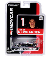 Dallara IndyCar #1 Josef Newgarden Hitachi Team Penske NTT IndyCar Series 2020 1/64 Diecast Model Car Greenlight 10868