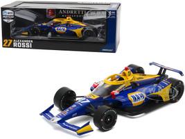 Dallara IndyCar #27 Alexander Rossi NAPA Auto Parts Andretti Autosport NTT IndyCar Series 2020 1/18 Diecast Model Car Greenlight 11080