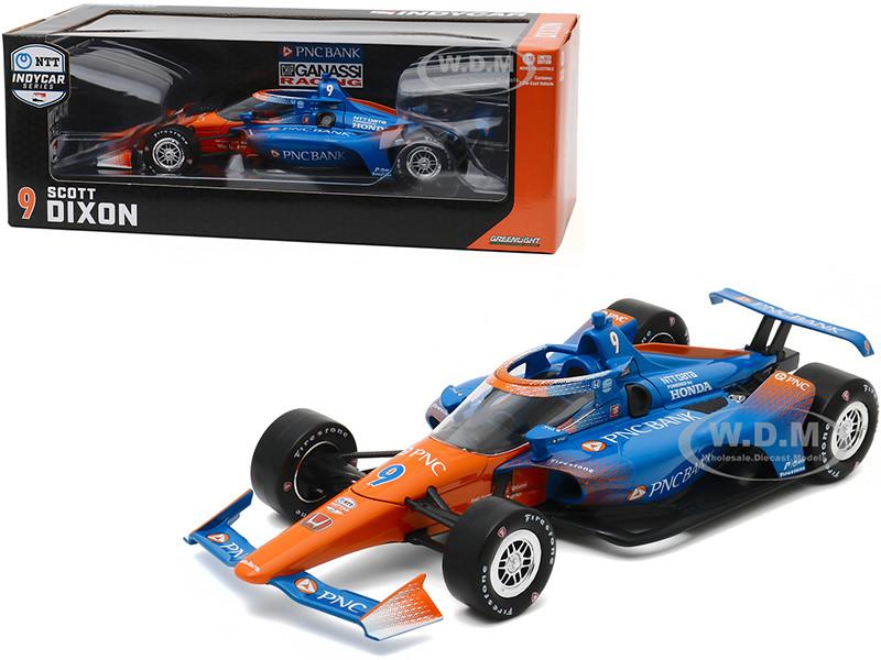 Dallara IndyCar #9 Scott Dixon PNC Bank Chip Ganassi Racing NTT IndyCar Series 2020 1/18 Diecast Model Car Greenlight 11091