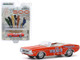 1971 Dodge Challenger Convertible Official Pace Car Orange 55th Indianapolis 500 Mile Race Hobby Exclusive 1/64 Diecast Model Car Greenlight 30144