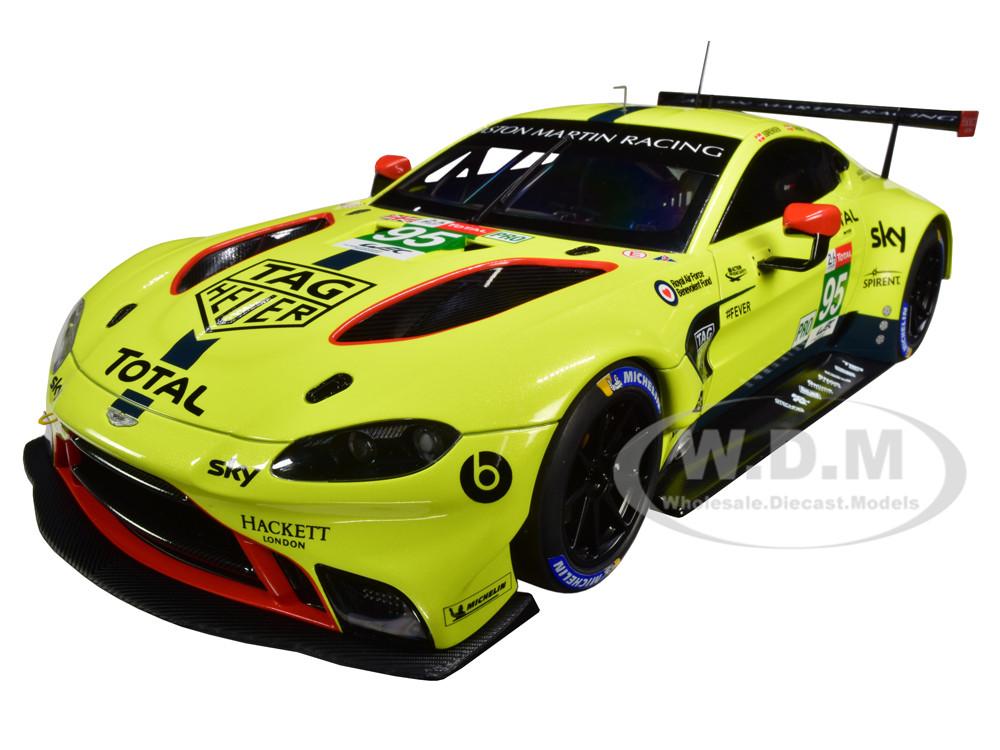 2018 Aston Martin Vantage Gte 95 Sorensen Thiim Turner Le Mans Pro 1 18 Model Car Autoart 81808