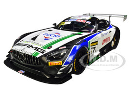 Mercedes AMG GT3 #77A M. Engel L. Stolz G. Paffett Team Craft Bamboo Black Falcon Bathurst 12 Hour 2019 1/18 Model Car Autoart 81930
