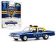 1990 Chevrolet Caprice Supervisor Blue Yellow New York City Housing Authority Police Department Hobby Exclusive 1/64 Diecast Model Car Greenlight 30159