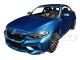 2019 BMW M2 Competition Light Blue Metallic Limited Edition 504 pieces Worldwide 1/18 Diecast Model Car Minichamps 155028002