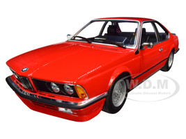 1982 BMW 635 CSi Red Limited Edition 504 pieces Worldwide 1/18 Diecast Model Car Minichamps 155028100