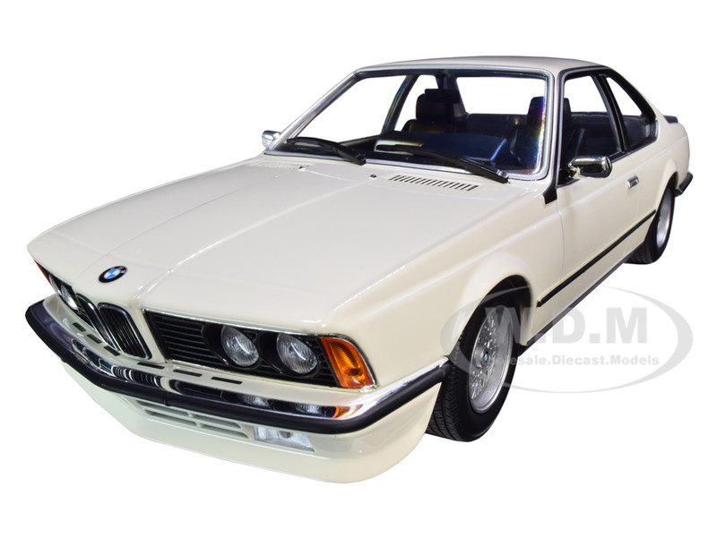 1982 BMW 635 CSi White Limited Edition 504 pieces Worldwide 1/18 Diecast Model Car Minichamps 155028102