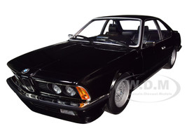 1982 BMW 635 CSi Black Metallic Limited Edition 504 pieces Worldwide 1/18 Diecast Model Car Minichamps 155028104