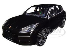 2017 Porsche Cayenne Turbo S Black Limited Edition 504 pieces Worldwide 1/18 Diecast Model Car Minichamps 155066070