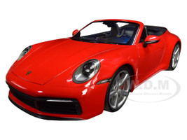 2019 Porsche 911 Carrera 4S Cabriolet Red Limited Edition to 504 pieces Worldwide 1/18 Diecast Model Car Minichamps 155067331