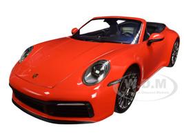 2019 Porsche 911 Carrera 4S Cabriolet Orange Limited Edition to 504 pieces Worldwide 1/18 Diecast Model Car Minichamps 155067334