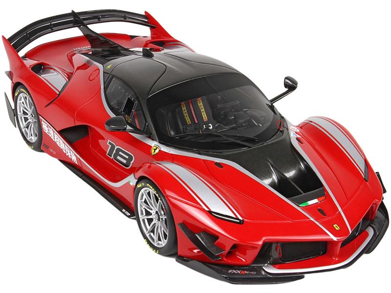 Ferrari FXXK-EVO #18 Clifford Chen Version 2019 Limited Edition 40 pieces Worldwide 1/18 Diecast Model Car BBR 182285