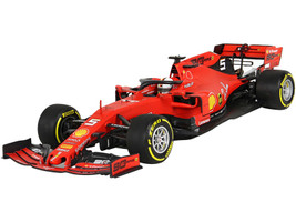 Ferrari SF90 #5 Sebastian Vettel Formula One F1 Australian Grand Prix 2019 1/18 Diecast Model Car BBR 191805