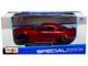 2006 Ford Mustang GT Burgundy Metallic Black Wheels 1/24 Diecast Model Car Maisto 31997