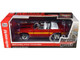 1970 Ford Mustang Shelby GT500 Convertible Candy Apple Red Black Yellow Stripes Hemmings Muscle Machines Magazine Cover Car July 2010 1/18 Diecast Model Car Autoworld AMM1187