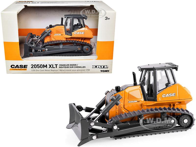 Case 2050M XLT Crawler Dozer Case Construction 1/50 Diecast Model Ertl Tomy 14914
