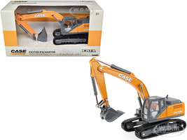 Case CX210D Excavator Case Construction 1/50 Diecast Model Ertl Tomy 14939
